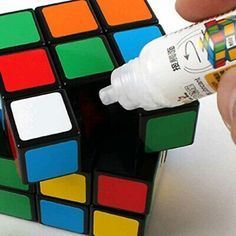 Lubricate a Speed Cube