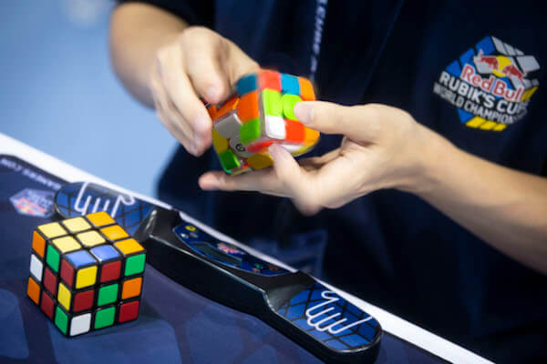 Rubik's cube finger tricks
