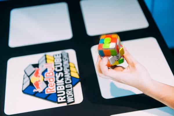 Rubik's cube finger tricks