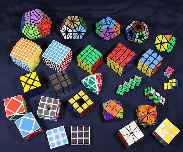 rubik's cube types