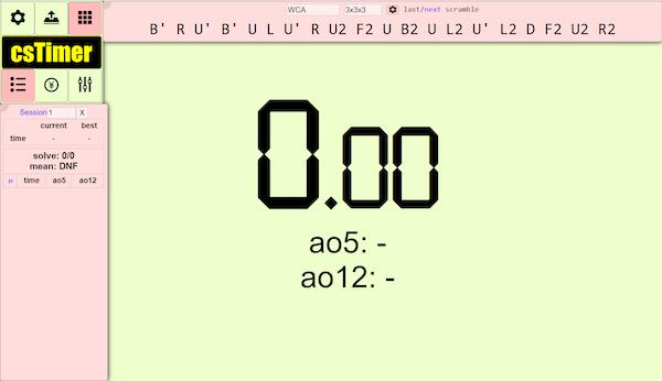 cs timer