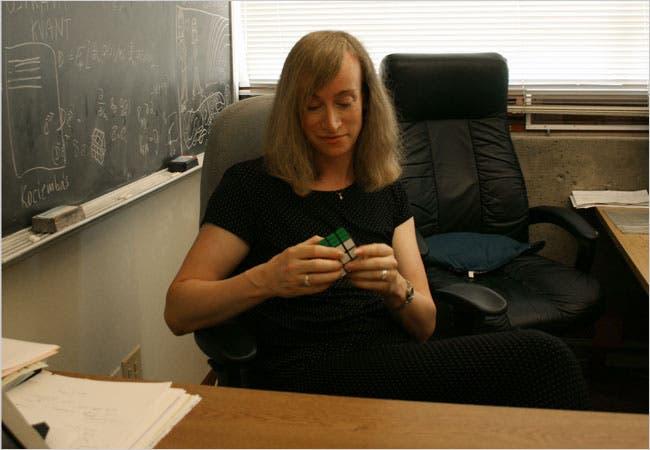 Jessica Fridrich Speed cube