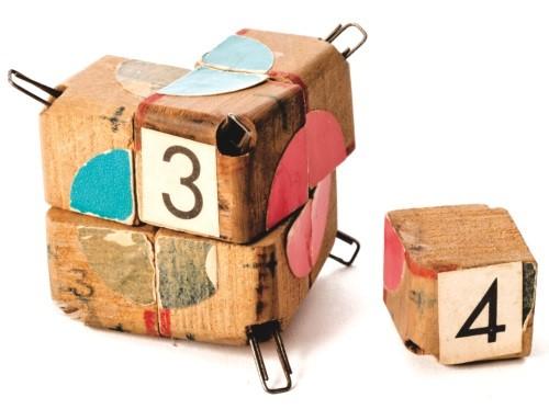 Numbered Rubik Cube Prototype