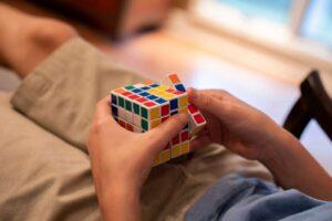 Solving Cube with CFOP Method