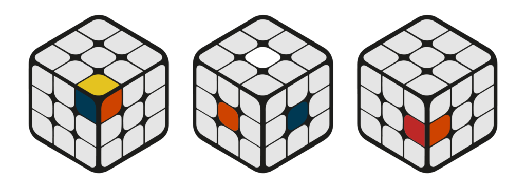 Impossible Stickering in Unsolvable Rubik's Cube