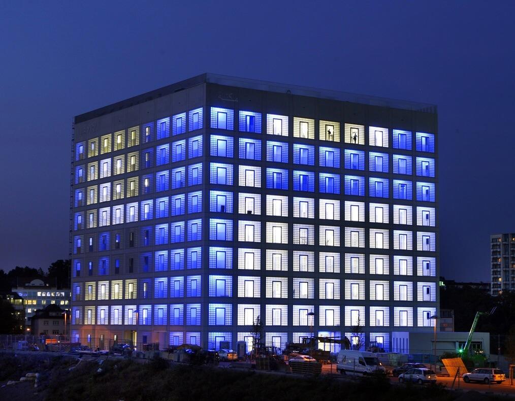 Rubik's Cube Shaped Building - Rubik's Cube in Architecture