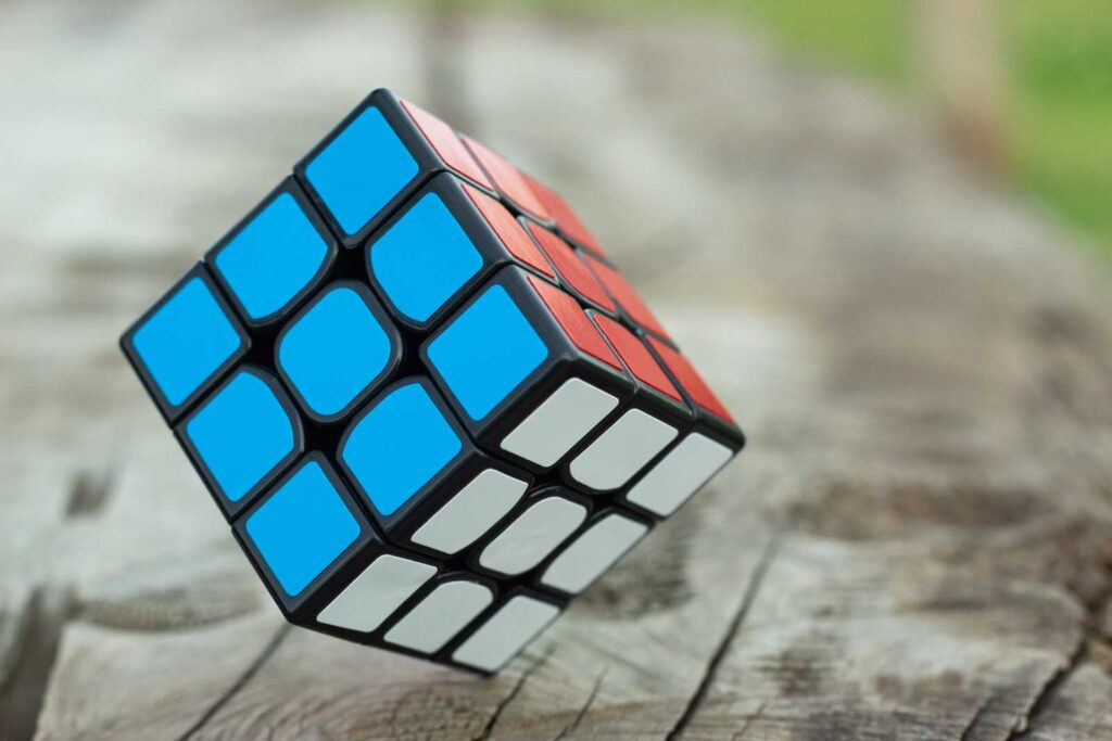 comparing method of solving rubik's cube