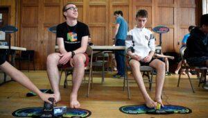 cubing feet event