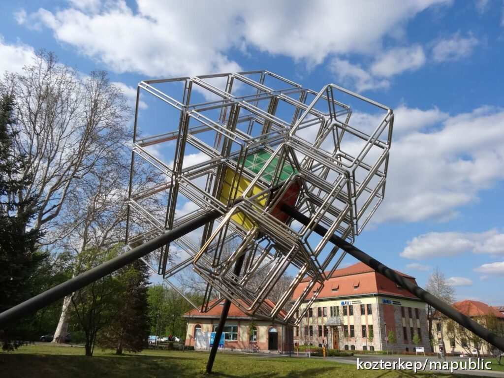 Sculptures Inspired by the Rubik's Cube around the world