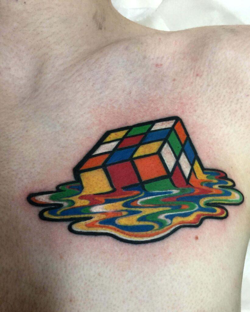 Best Rubik's Cube Tattoos